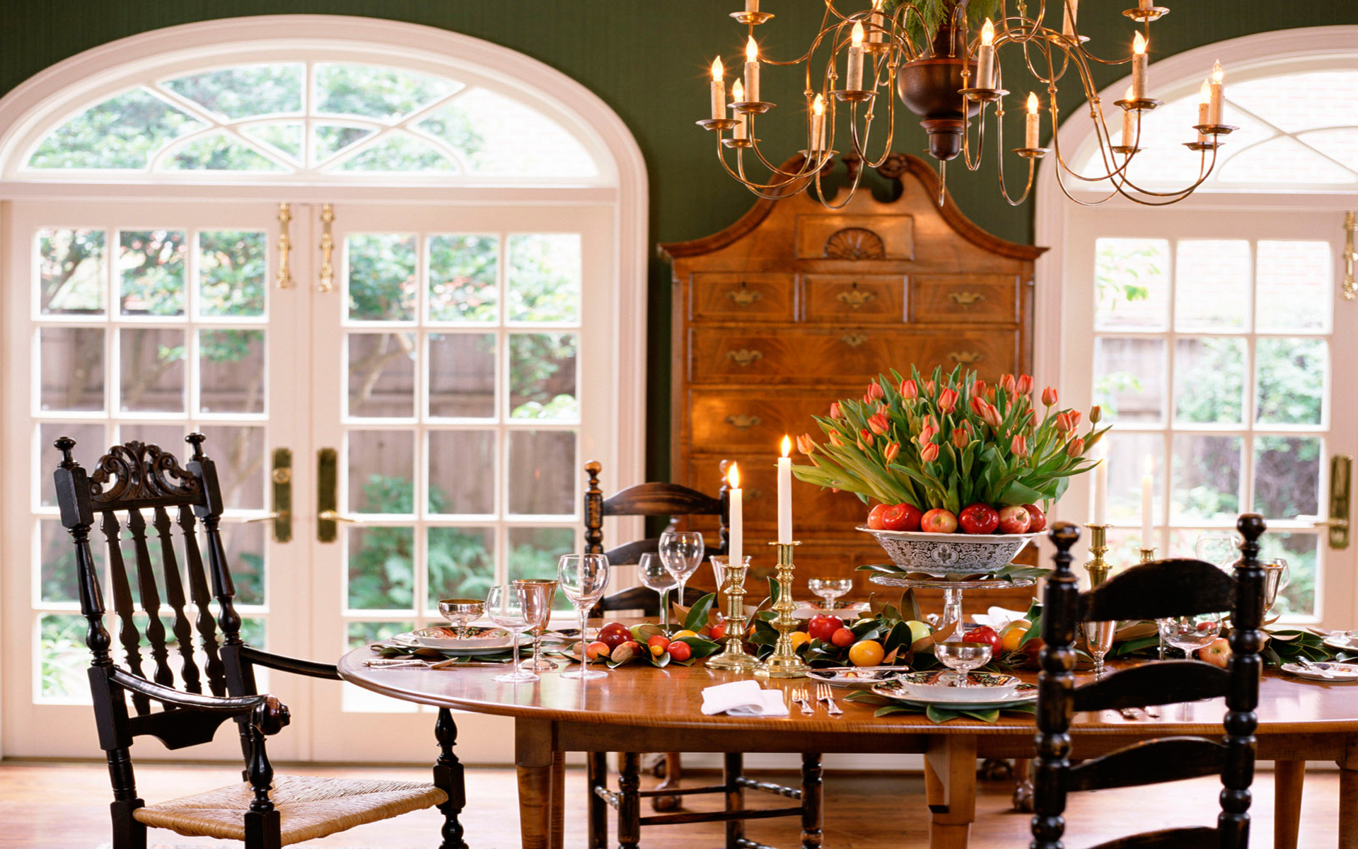 Dining Room Wallpaper Of Classic Dining Room Wallpaper 27 Picture
