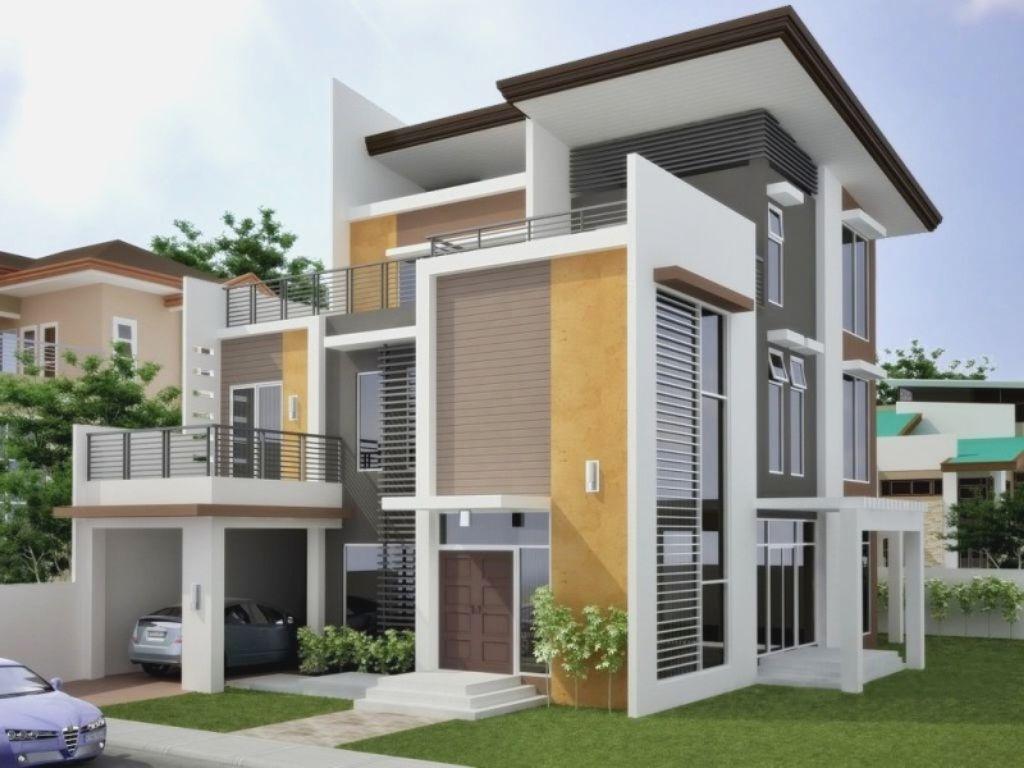 Modern Exterior House Colors exterior paint design - home design