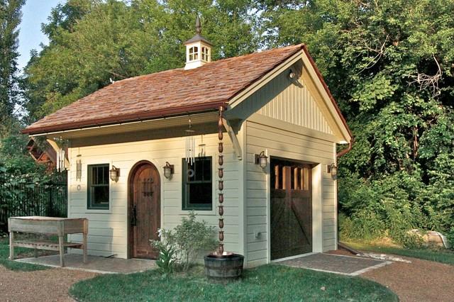 Traditional garden sheds 2 decor ideas for Traditional garden buildings